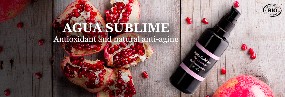 The sublime power of organic pomegranate, powerful antioxydant and natural anti-aging